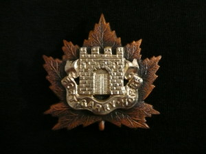 Cap badge of the Fort Garry Horse, Private Collection