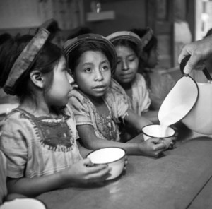 UNICEF Supplies Milk for Guatemalan Children.